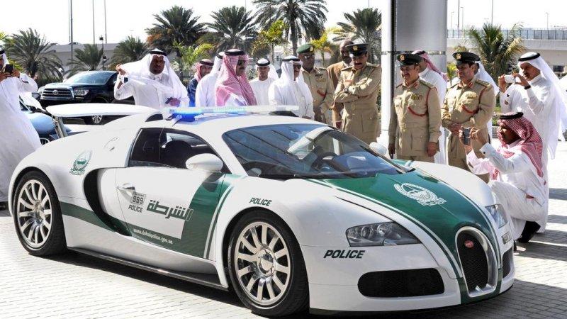 A dubaji rendőröké a világ leggyorsabb autója